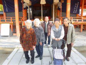 風浪宮 初詣 記念撮影