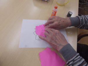 手作り紫陽花