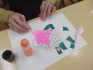 手作り紫陽花 2