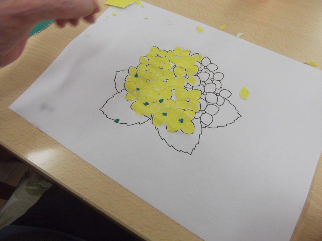 手作り紫陽花 3