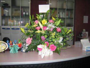 久留米市より花のプレゼント